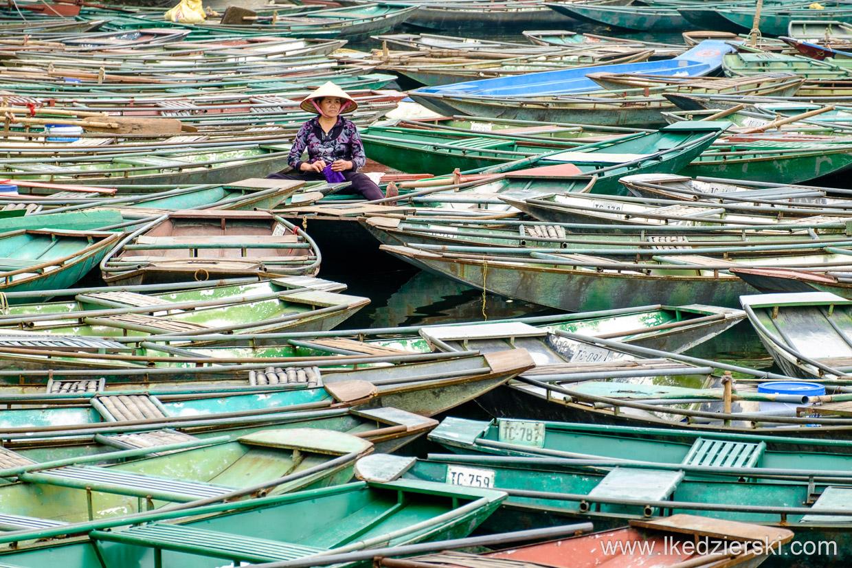 wietnam tam coc łódki