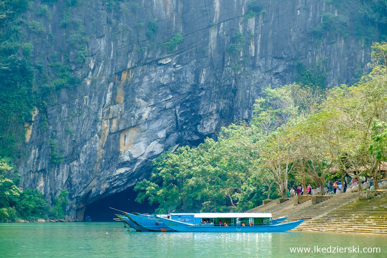 wietnam jaskinia phong nha cave lódka