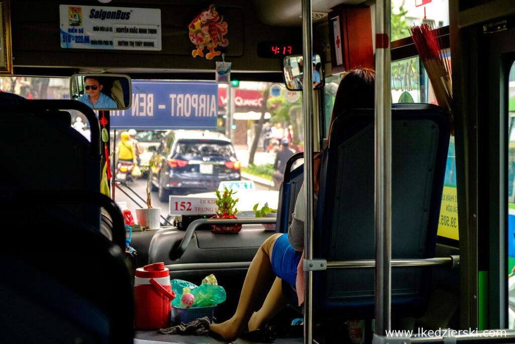 wietnam saigon autobus transport w wietnamie