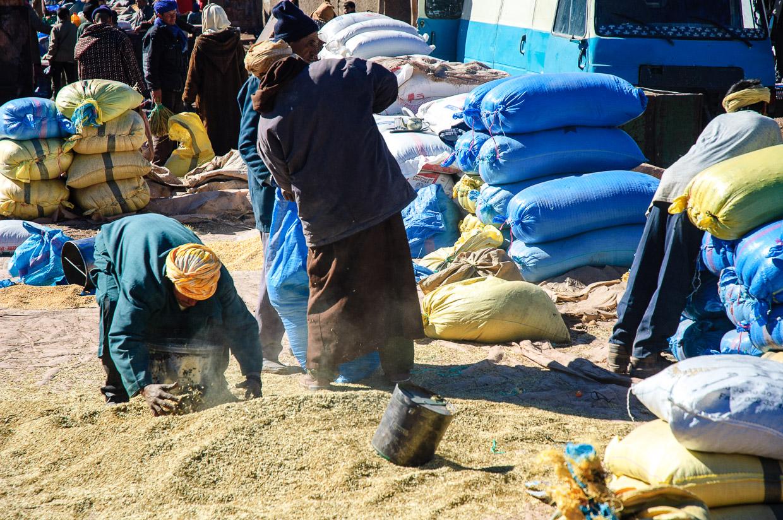 maroko atrakcje Msemrir targ atrakcje maroka