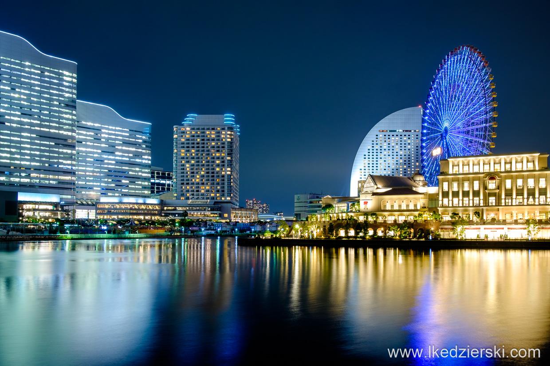 japonia jokohama blue hour