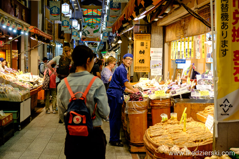 japonia kioto nishiki market