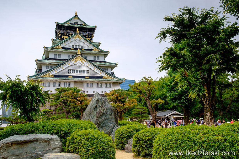 japonia osaka zamek osaka