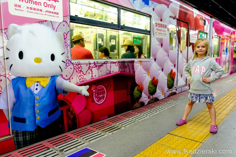 japonia osaka dziecko podróż z dzieckiem do japonii pociąg