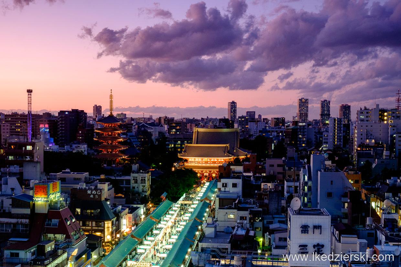 japonia tokio tokyo asakusa senso-ji