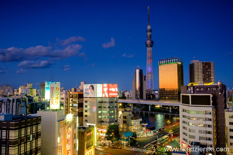 japonia tokio tokyo asakusa tokyo skytree