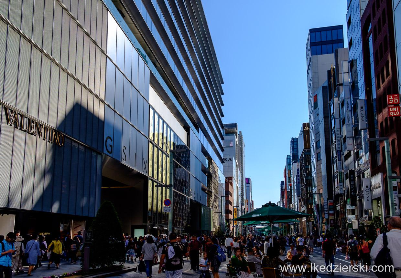 japonia tokio porsche ginza
