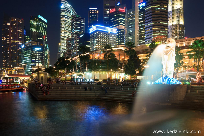 singapur atrakcje atrakcje singapuru merlion
