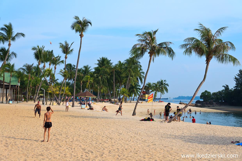 singapur atrakcje atrakcje singapuru sentosa plaża