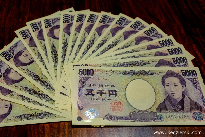 japonia informacje praktyczne waluta jen japonski