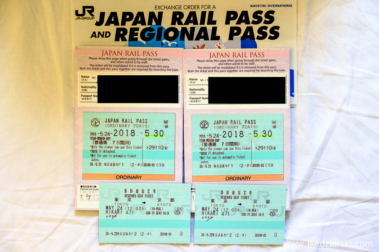 japonia japan rail pass jr pass