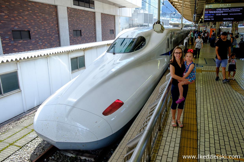 japonia nadia w podróży shinkansen