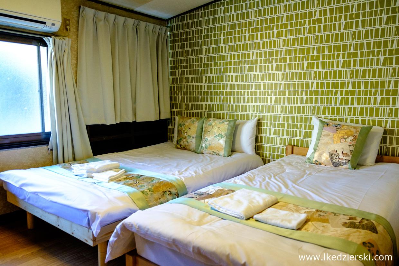 Noclegi w Japonii Kioto Hostel Ten