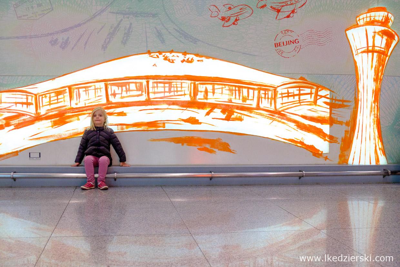 pekin beijing airport Beijing Capital International Airport przesiadka w Pekinie nadia w podróży