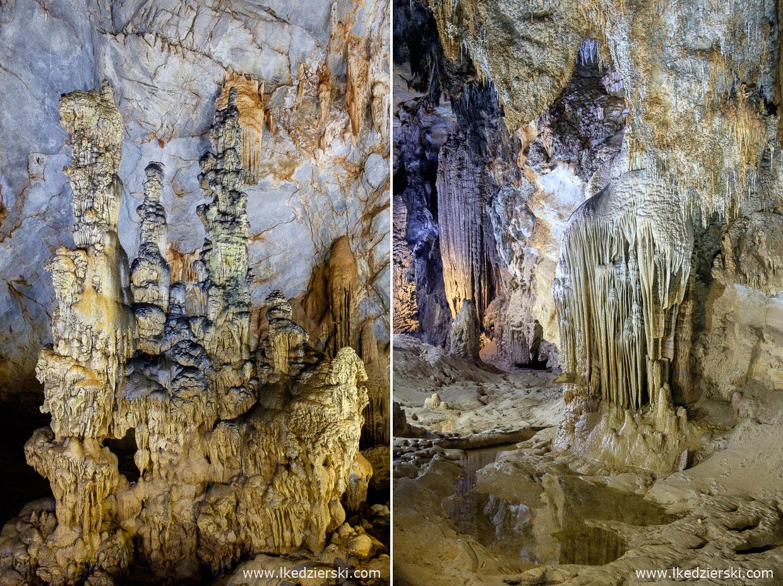 wietnam jaskinia paradise cave Phong Nha-Kẻ Bàng