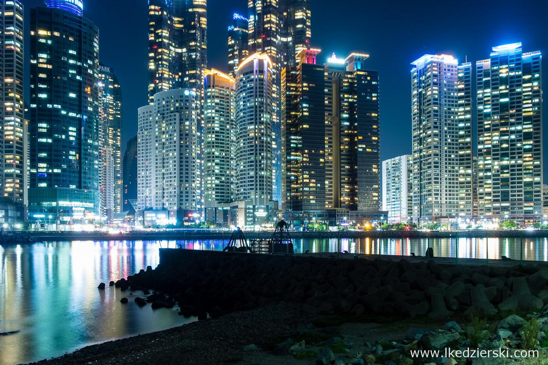 korea południowa busan night photo nocne zdjęcia pusan