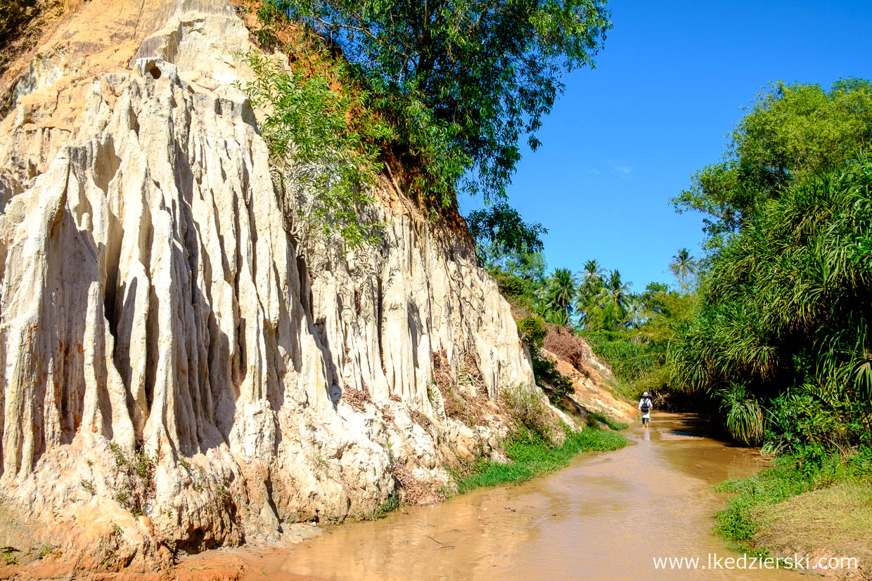 wietnam atrakcje mui ne Fairy Stream Suoi Tien