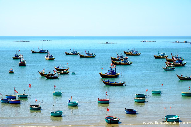 wietnam atrakcje mui ne fishing village