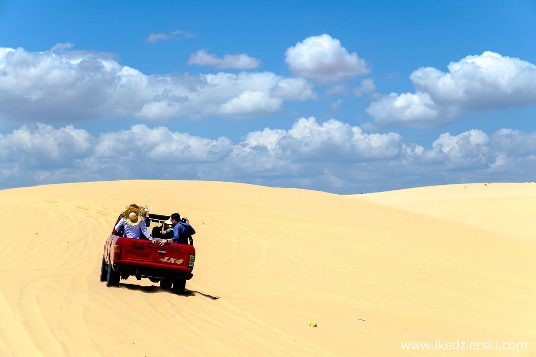 wietnam atrakcje mui ne white sand dunes