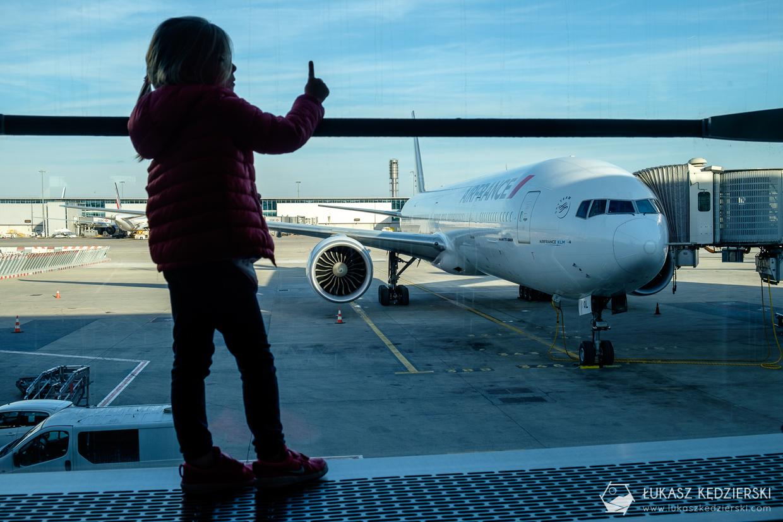 paryż lotnisko cdg samolot airfrance