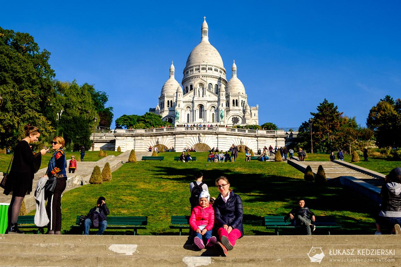 paryż montmartre bazylika sacre coeur