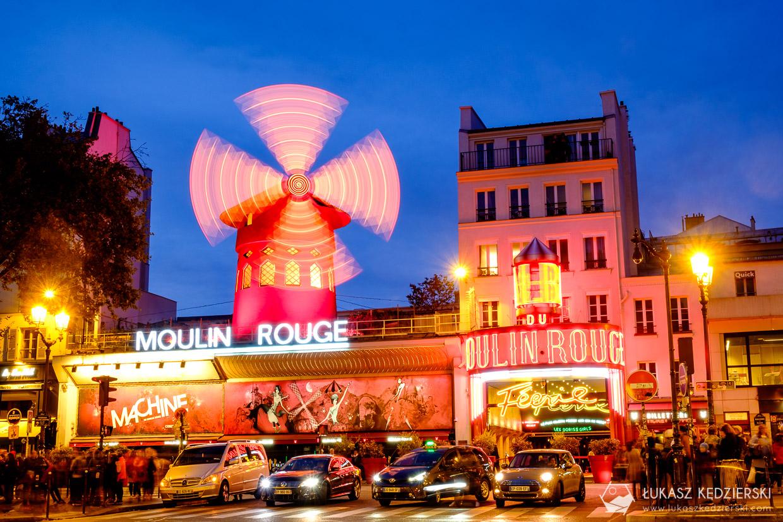 paryż Moulin Rouge