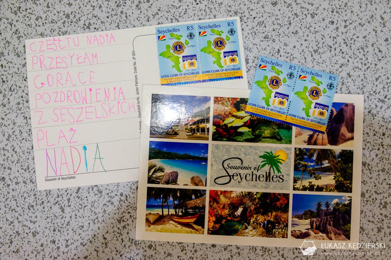seszele kartki pocztowe