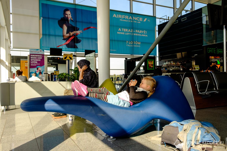 wroclaw lotnisko nadia w podróży