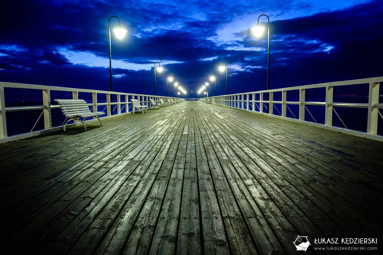 polskie morze bałtyckie orłowo molo w orłowie