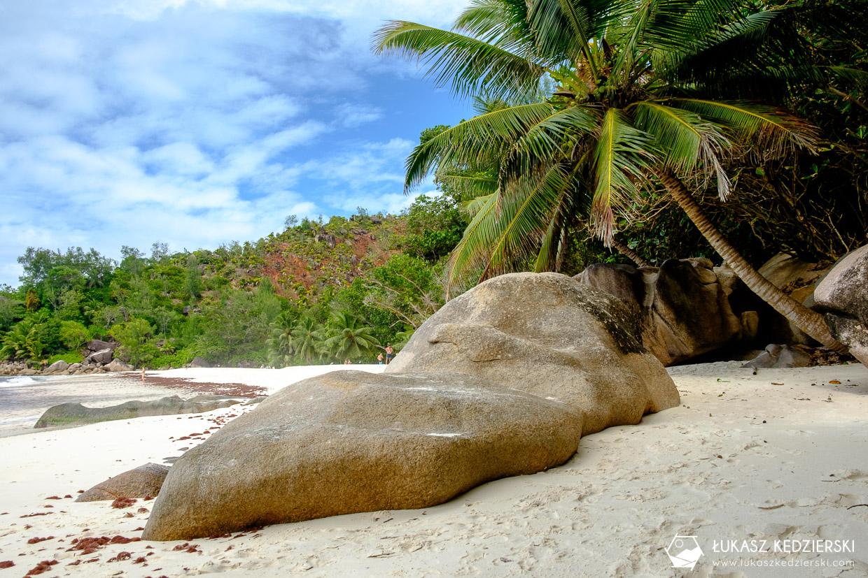 praslin plaża anse georgette beach seychelles