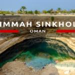 Bimmah Sinkhole, czyli nasza pierwsza atrakcja Omanu