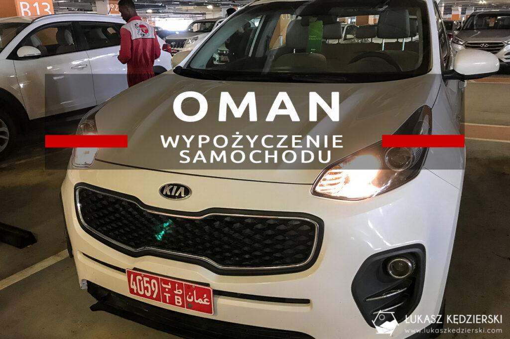 oman wypożyczenie samochodu wynajem samochodu w omanie