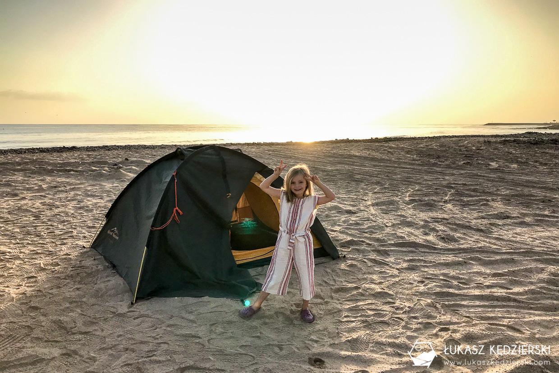 podróż do omanu sifah beach sifah plaża