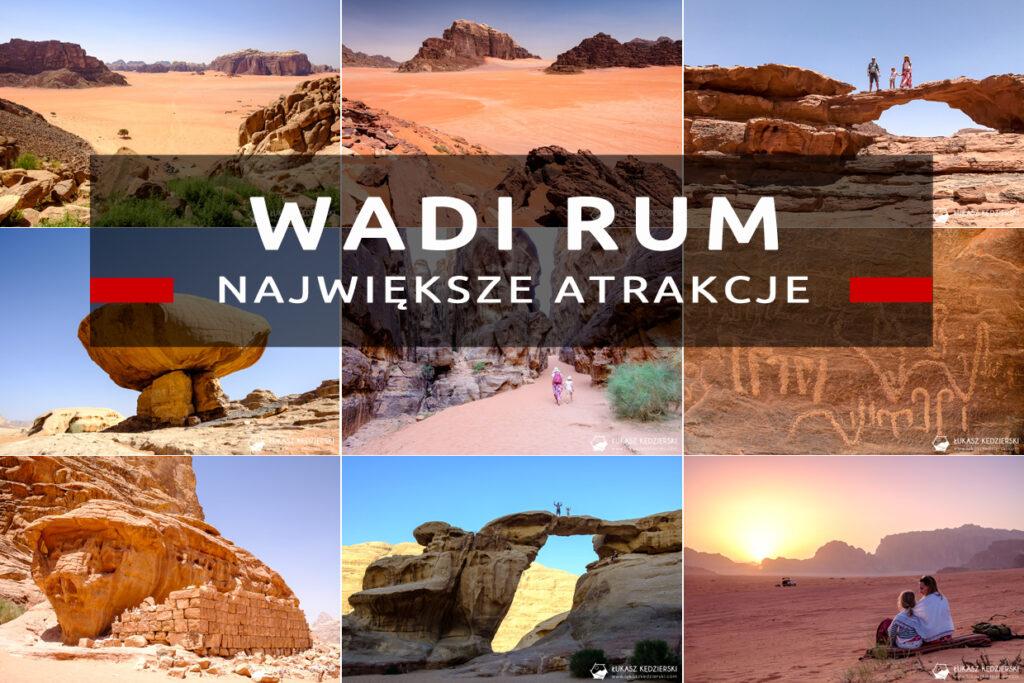 jordania atrakcje wadi rum