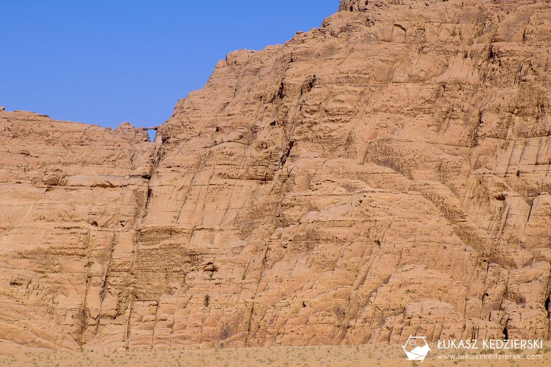 jordania atrakcje wadi rum burdah arch