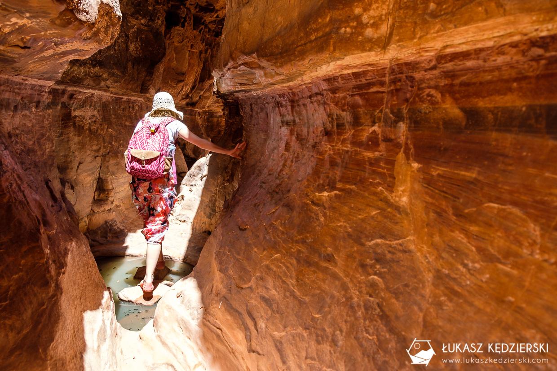 jordania atrakcje wadi rum khazali canyon
