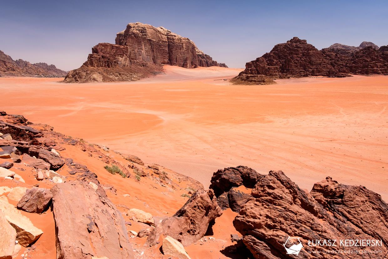 jordania atrakcje wadi rum red sand dune czerwona wydma