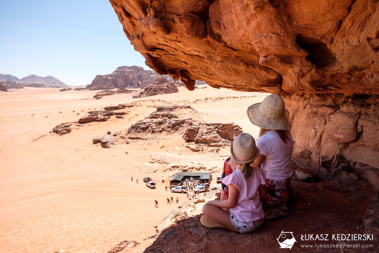 jordania wadi rum red sand dune czerwona wydma