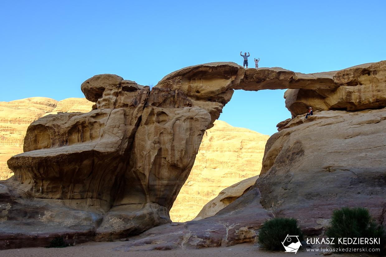 atrakcje wadi rum umm fruth rock arch jordania