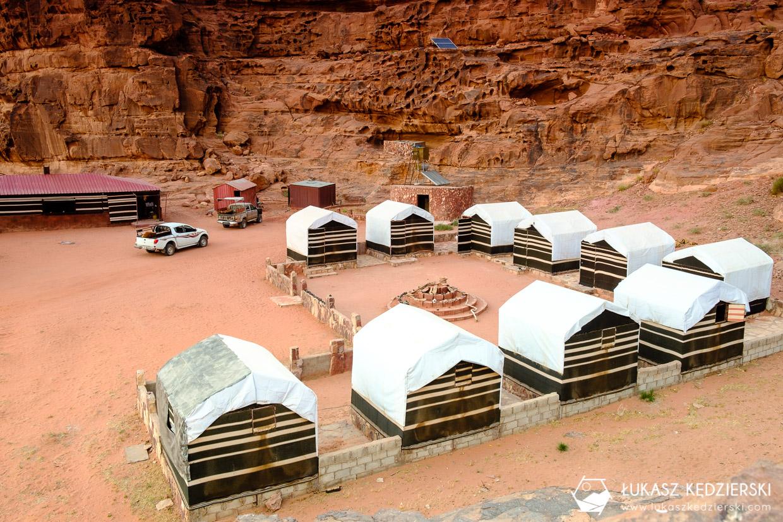 jordania noclegi wadi rum ali baba camp noclegi w jordanii