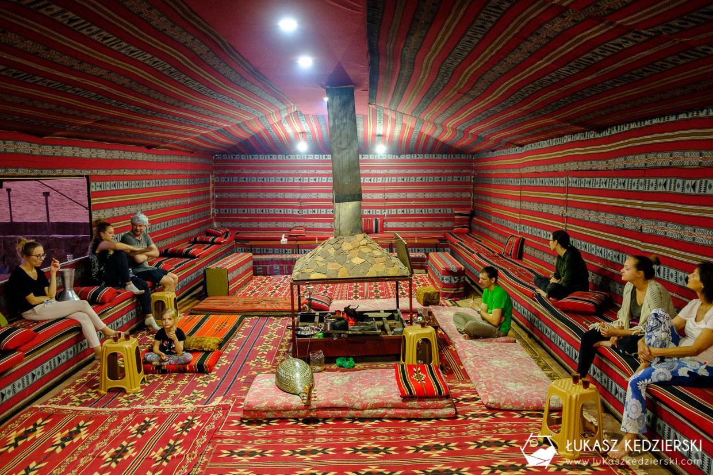 jordania noclegi wadi rum ali baba camp