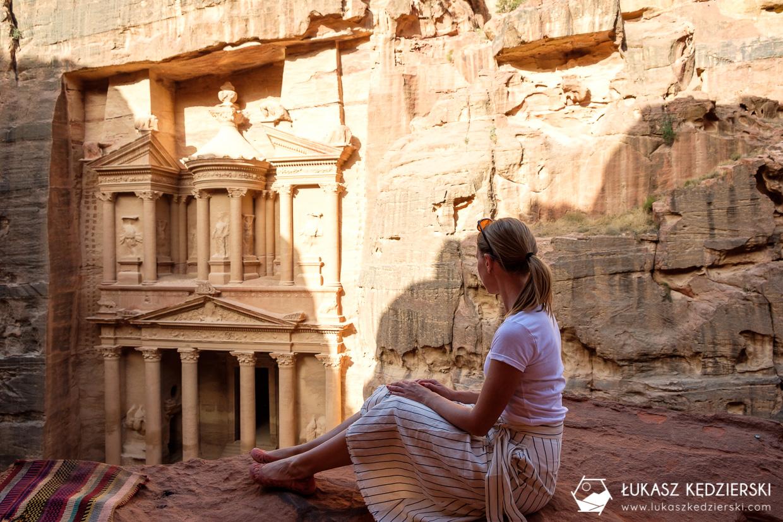 jordania petra treasury view skarbiec jordania informacje praktyczne