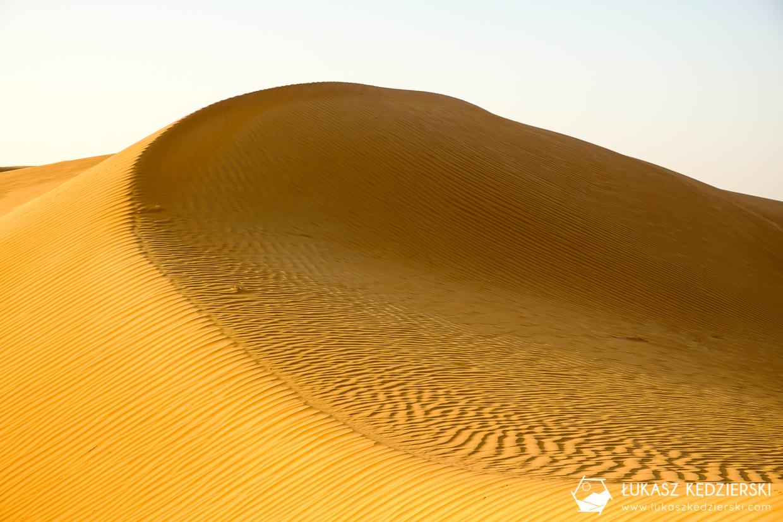 oman wahiba sands pustynia wydmy