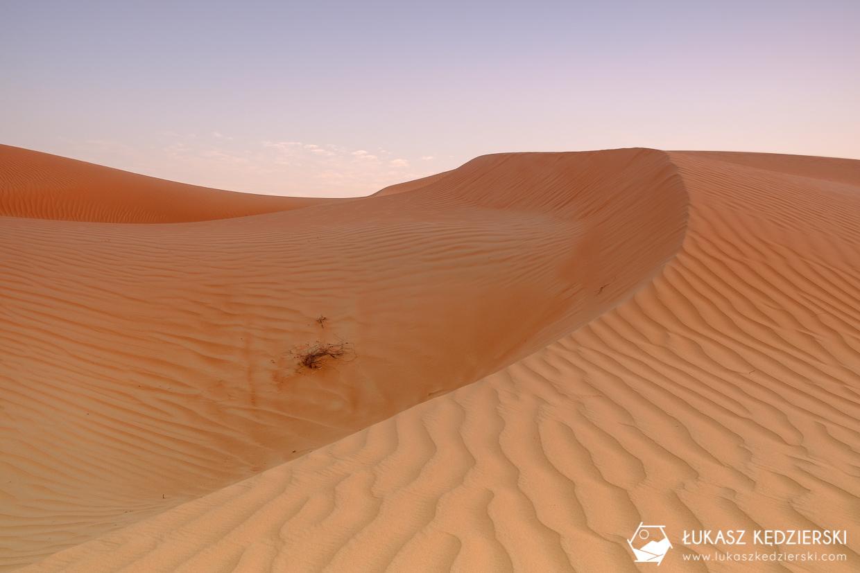 oman wahiba sands pustynia sunset