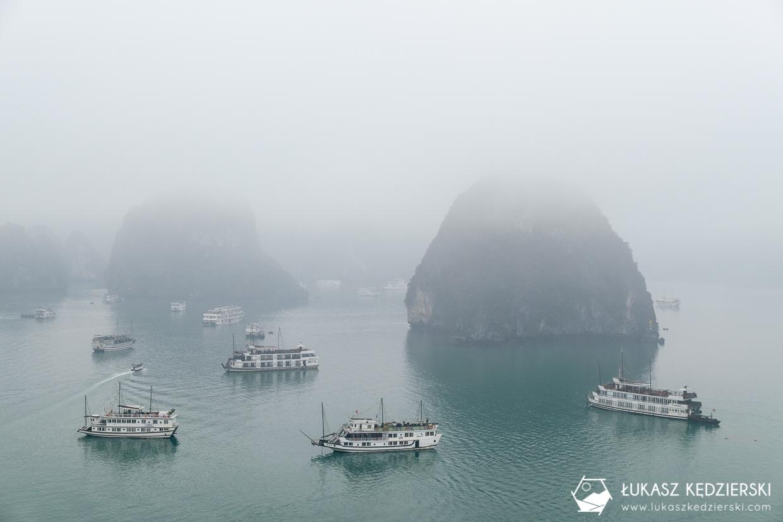 wietnam halong atrakcje wietnamu