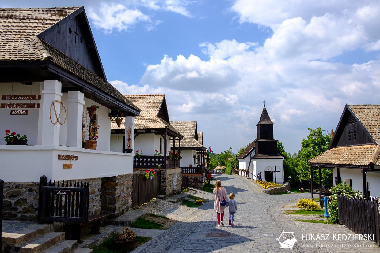 atrakcje węgier holloko Skansen w Hollókő