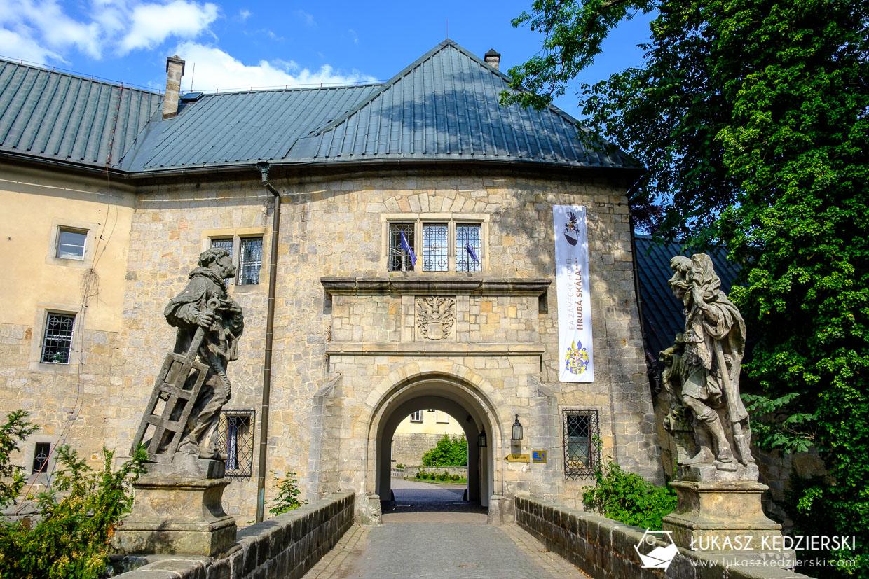 czeski raj hruboskalsko zamek hruba skała Hrubá Skála