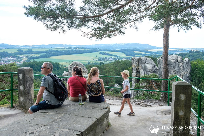 czeski raj szlak Mariánská vyhlídka