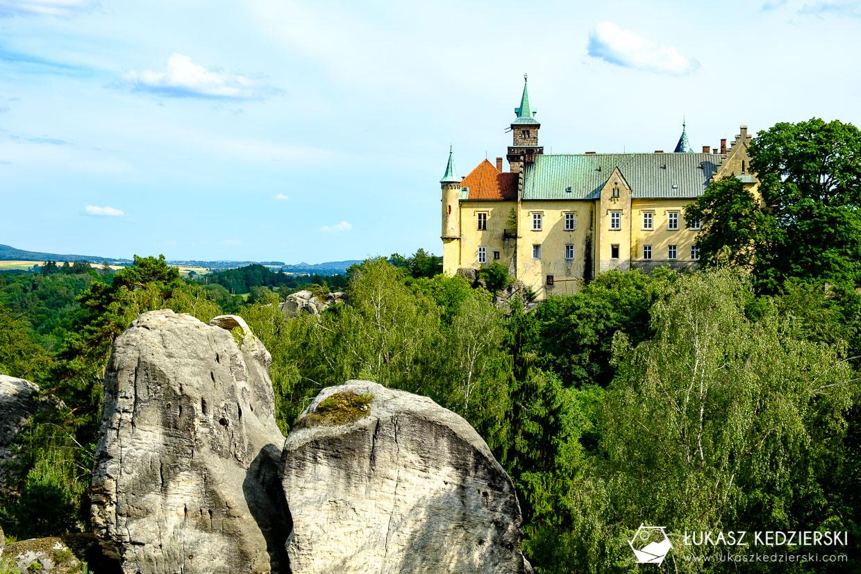 czeski raj Zámecká vyhlídka