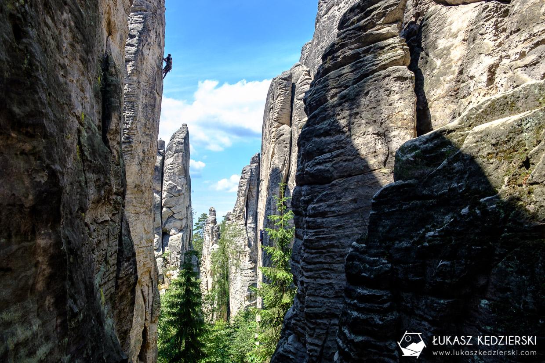 czeski raj prachowskie skaly Prachovské skály skalne miasto